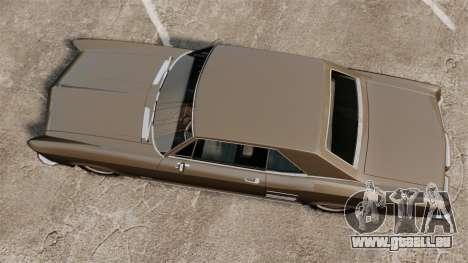 Buick Riviera 1963 pour GTA 4 est un droit