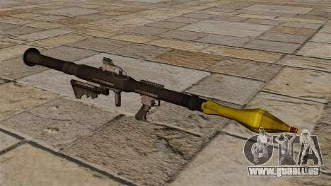Amerikanische Panzerabwehr-Granatwerfer RPG-7 für GTA 4