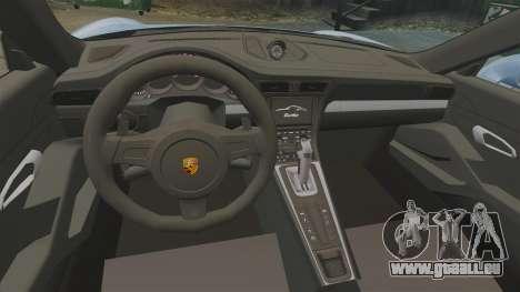 Porsche 911 Turbo 2014 [EPM] KW iSuspension für GTA 4 Innenansicht