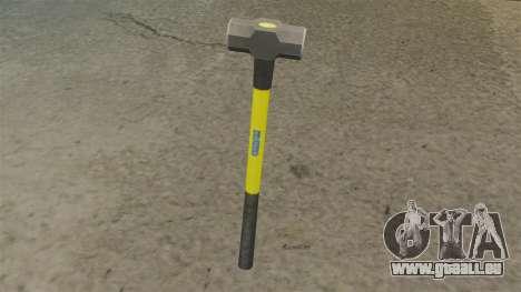 Sledge Hammer pour GTA 4