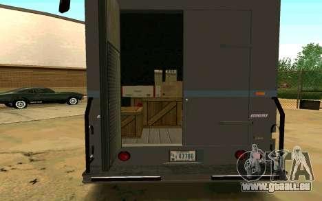 Boxville de GTA 4 pour GTA San Andreas laissé vue