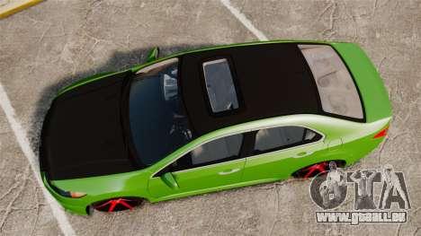 Acura TSX Mugen 2010 für GTA 4 rechte Ansicht