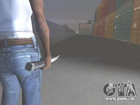 CSO Katana für GTA San Andreas zweiten Screenshot