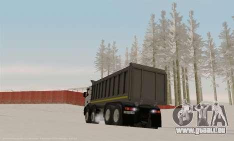 Scania P420 pour GTA San Andreas vue arrière