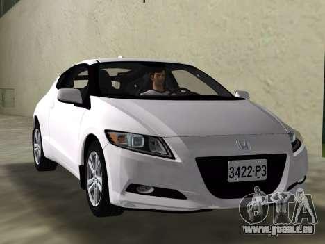 Honda CR-Z 2010 pour GTA Vice City vue latérale