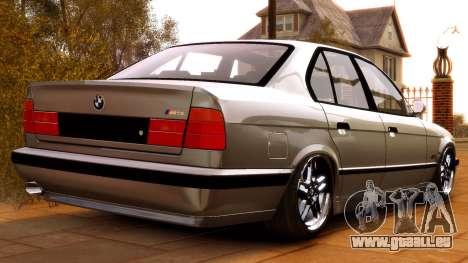 BMW M5 E34 1995 für GTA 4 hinten links Ansicht