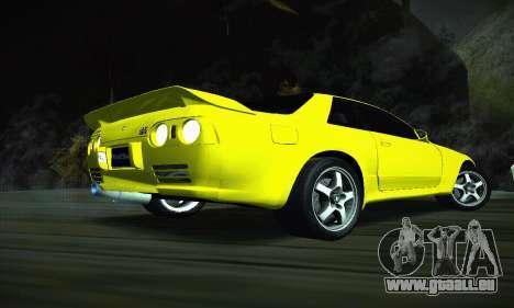 Nissan Skyline R32 GT-R für GTA San Andreas zurück linke Ansicht