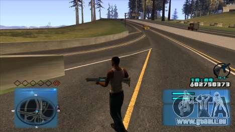 C-HUD Battlefield 3 für GTA San Andreas zweiten Screenshot
