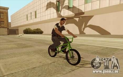 BMX für GTA San Andreas linke Ansicht
