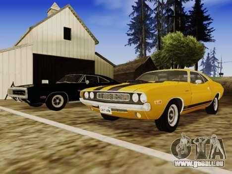 SA_RaptorX v1. 0 für schwache PC für GTA San Andreas elften Screenshot