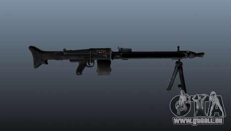 Usage général Mitrailleuse MG-3 pour GTA 4 troisième écran