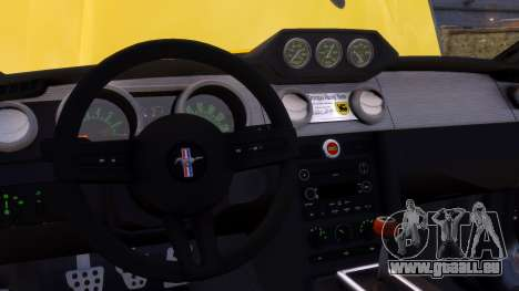 Shelby Terlingua Mustang für GTA 4 Unteransicht