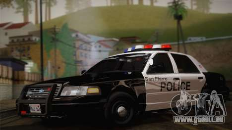 Ford Crown Victoria 2005 Police pour GTA San Andreas