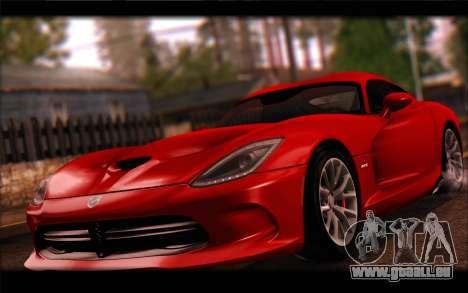 SRT Viper Autovista für GTA San Andreas linke Ansicht