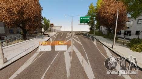Street Race Track pour GTA 4 troisième écran