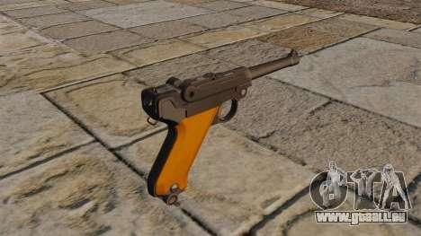 Luger P08 Pistole für GTA 4 Sekunden Bildschirm