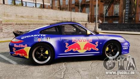 Porsche 911 Sport Classic 2010 Red Bull pour GTA 4 est une gauche