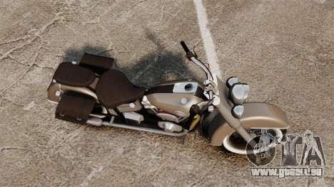 Custom Bobber v2 für GTA 4 hinten links Ansicht