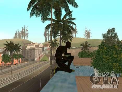 Spider-man pour GTA San Andreas troisième écran