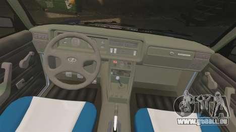 LADA 2107 Time Attack Racer für GTA 4 Seitenansicht
