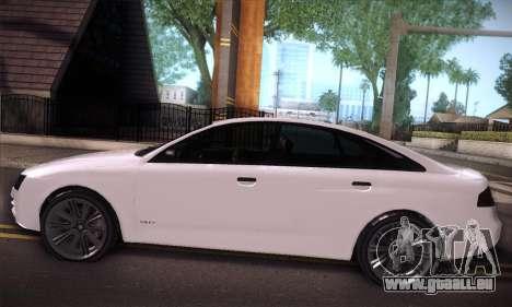 GTA V Tailgater für GTA San Andreas Innenansicht