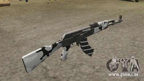 AK-47-winter für GTA 4 Sekunden Bildschirm