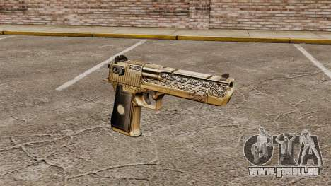Pistolet de luxe Desert Eagle pour GTA 4