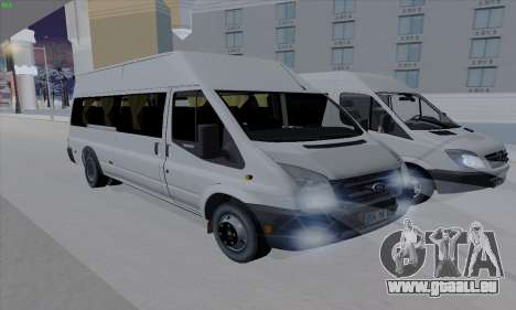 Ford Transit Jumgo für GTA San Andreas