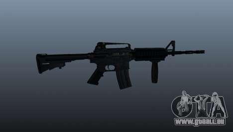Automatique carabine M4A1 Grip pour GTA 4 troisième écran