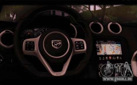 SRT Viper Autovista für GTA San Andreas Motor