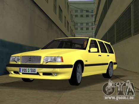 Volvo 850 R Estate für GTA Vice City