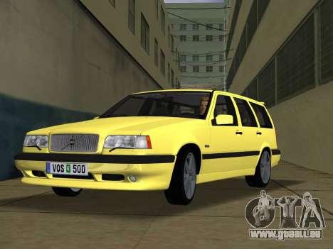 Volvo 850 R Estate für GTA Vice City
