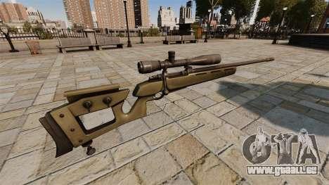 GOL-Sniper Magnum Sniper Gewehr v2 für GTA 4 Sekunden Bildschirm