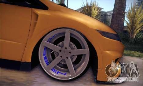 Honda Civic Type R Mugen pour GTA San Andreas vue de côté
