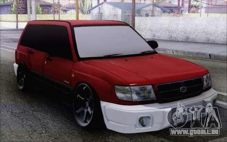 Subaru Forester Hellaflush pour GTA San Andreas