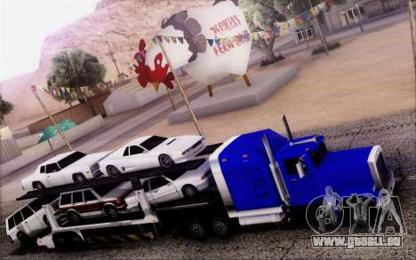 Article Trailer 3 pour GTA San Andreas sur la vue arrière gauche