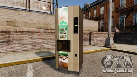 Nouveaux distributeurs automatiques pour GTA 4 troisième écran