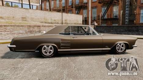 Buick Riviera 1963 pour GTA 4 est une gauche