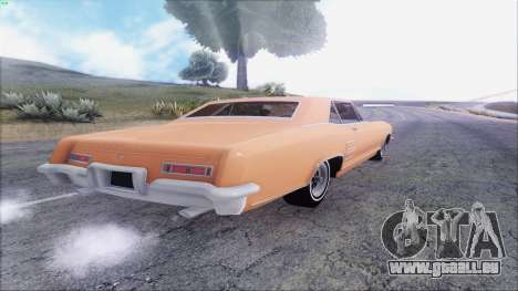Buick Riviera 1963 pour GTA San Andreas vue de droite