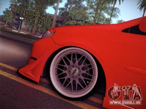 Toyota Vios Modified Indonesia pour GTA San Andreas vue intérieure