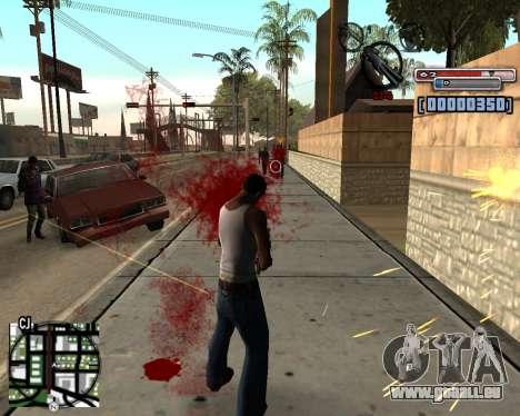 C-HUD by olimpiad pour GTA San Andreas deuxième écran