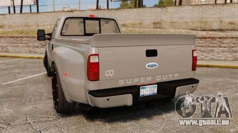 Ford F-350 Pitbull v2.0 für GTA 4 hinten links Ansicht
