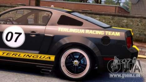 Shelby Terlingua Mustang für GTA 4 hinten links Ansicht