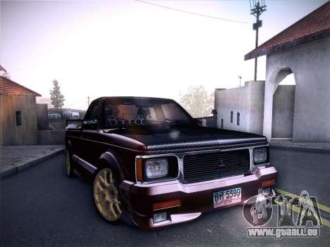 Mitsubishi Cyclone pour GTA San Andreas moteur