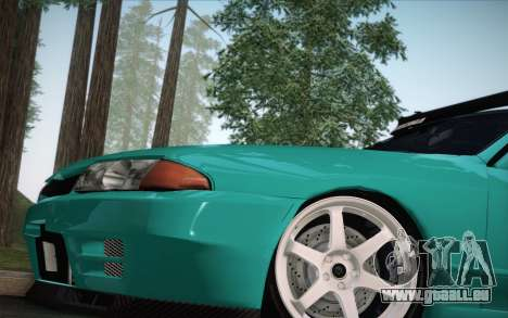 Nissan Skyline R32 Stella pour GTA San Andreas vue de droite