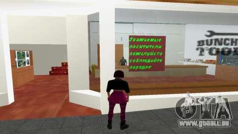 Shop-Werkzeuge für GTA Vice City zweiten Screenshot
