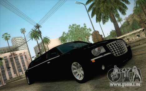 Chrysler 300C Limo 2007 pour GTA San Andreas vue intérieure