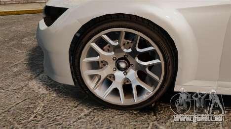 GTA V Zion XS Cabrio [Update] für GTA 4 Rückansicht