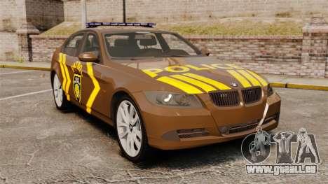 BMW 350i Indonesia Police v2 [ELS] pour GTA 4
