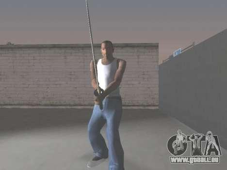 CSO Katana pour GTA San Andreas quatrième écran